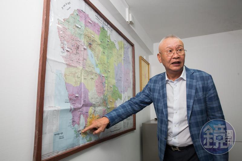 1996年,吳景亮前進柬埔寨設廠,沒想到第一週就碰上內戰。