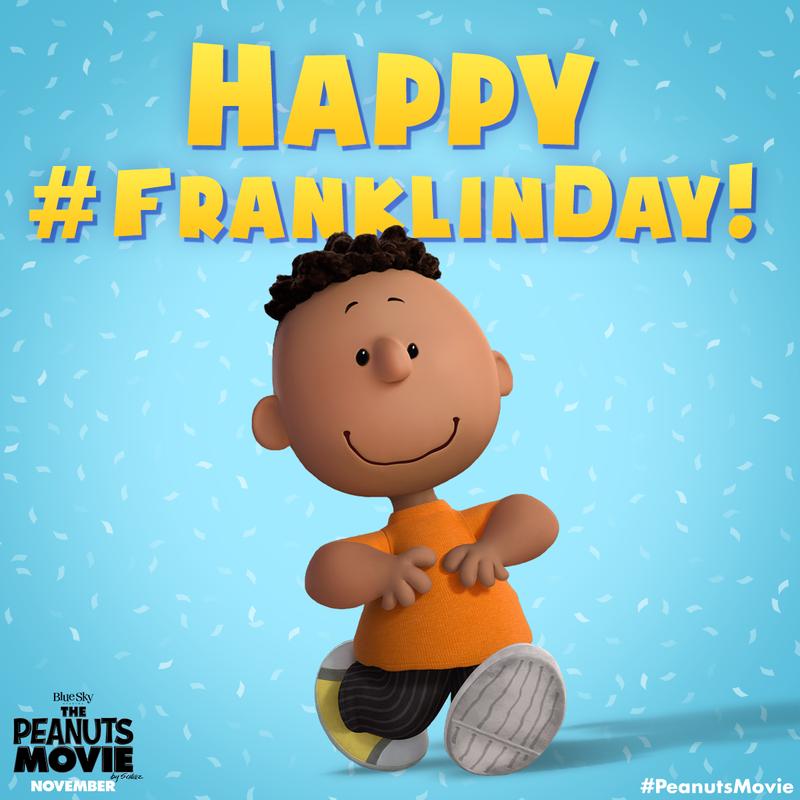 7 月 31 日是富蘭克林第一次出現在史奴比世界中的日子。(圖/The Peanuts Movie,2015)