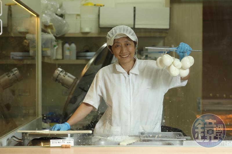 台灣第一位義式起司乳酪師Isabella,堅持使用台灣在地生乳食材。