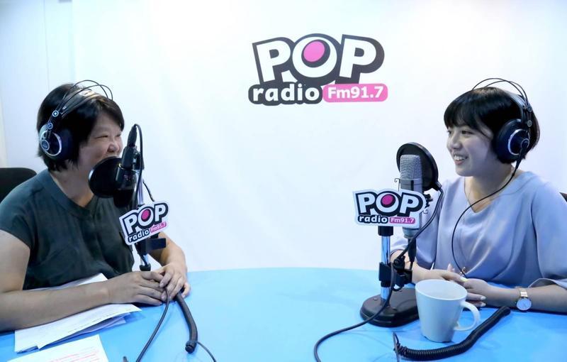 對柯P說「學姐陪吃飯」挨轟一事,黃瀞瑩力挺老闆,表示柯P沒有這樣的意思。(POP RADIO提供)
