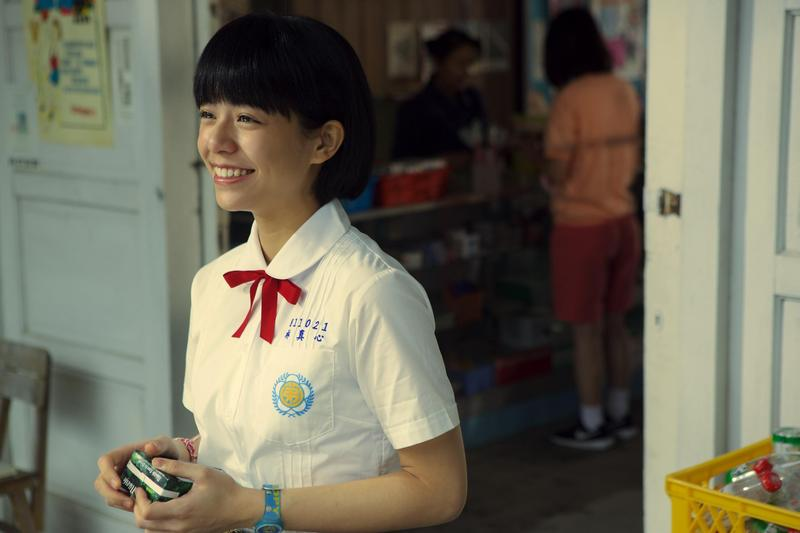 宋芸樺以《我的少女時代》一片走紅、也入圍金馬獎,但當年在宣傳時做的一段快問快答,「最喜歡的國家是台灣」,讓她被指為台獨。(華聯國際提供)