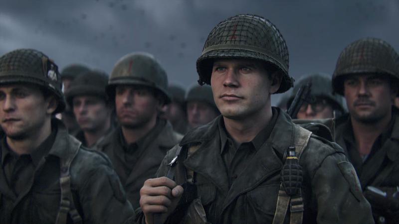 其實許多如《決勝時刻:二戰》的遊戲都有輔助障礙者的功能(圖片來源:官方宣傳圖)