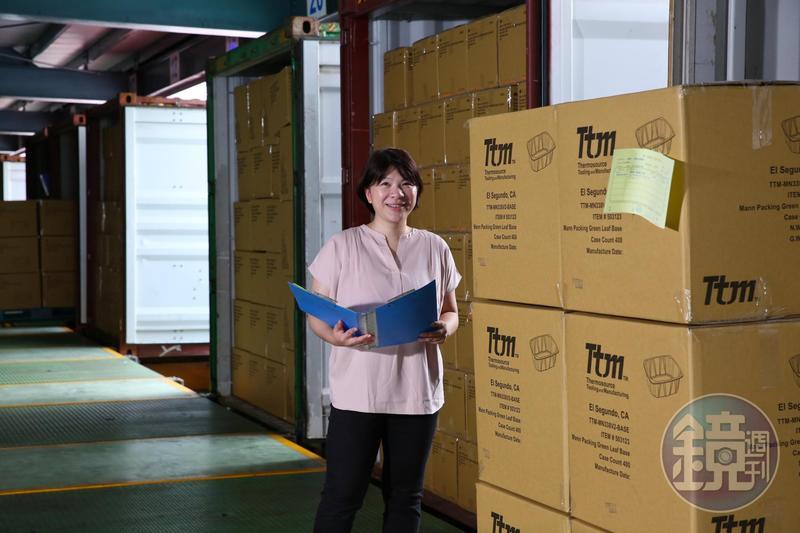 陳郁卉接班3年以來,逐步建立工廠現代化管理。
