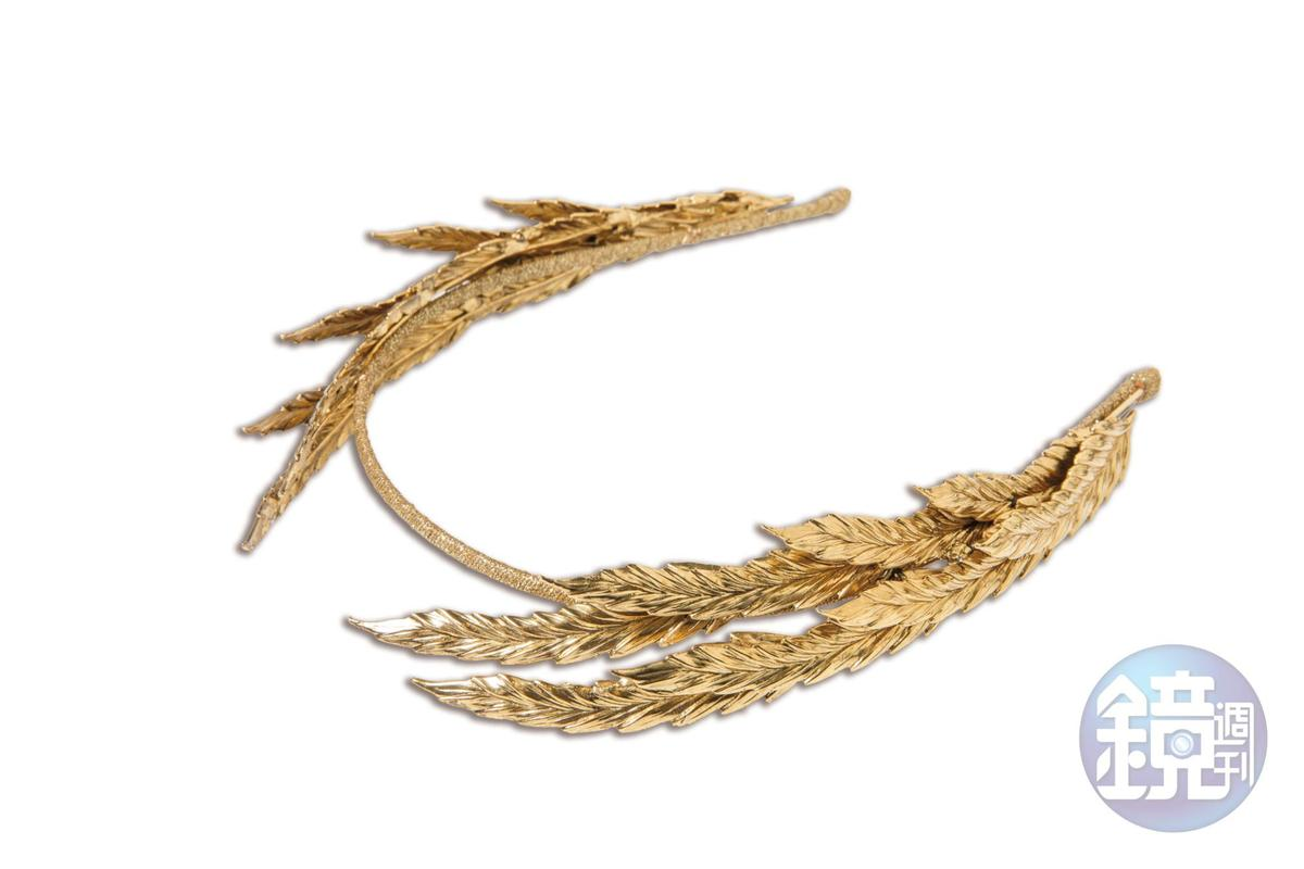 JENNIFER BEHR樹葉造型髮箍。NT$23,500