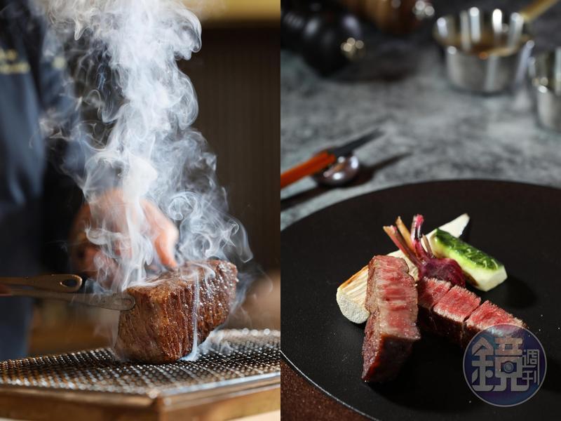 連續三年獲得東京米其林一星的鐵板燒「石垣吉田」來台開店誠意十足,不用出國就能吃到招牌的八重山鄉里牛料理。