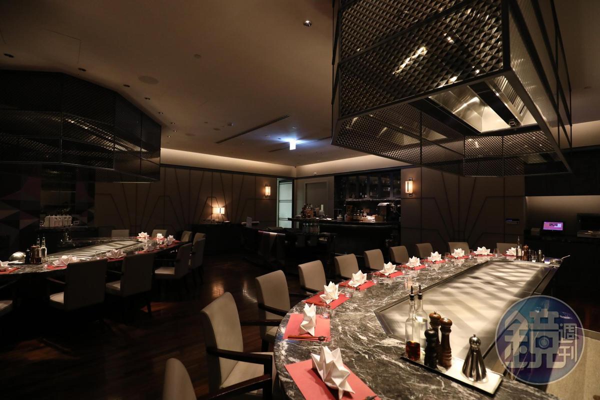 但馬家鐵板燒也提供由宮澤料理長設計的新菜單。