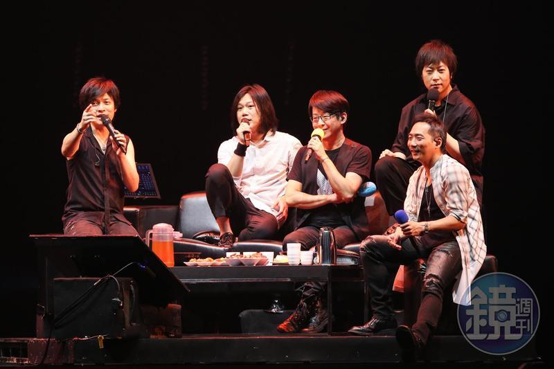 五月天壓軸上場,為演唱會帶來高潮。