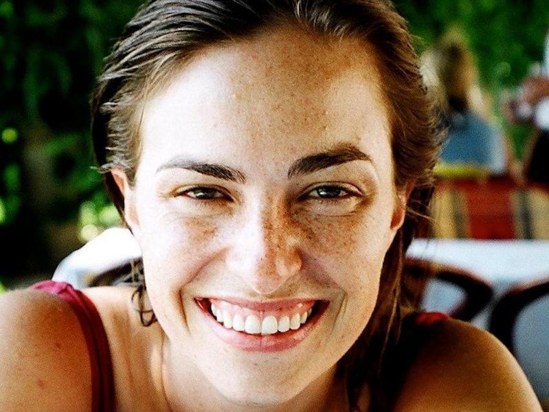 賈伯斯的女兒莉莎賈伯斯攝於2005年。(維基百科)