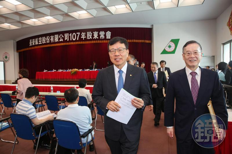 身為長榮第3大股東,張國煒希望長榮航空做到第1名。