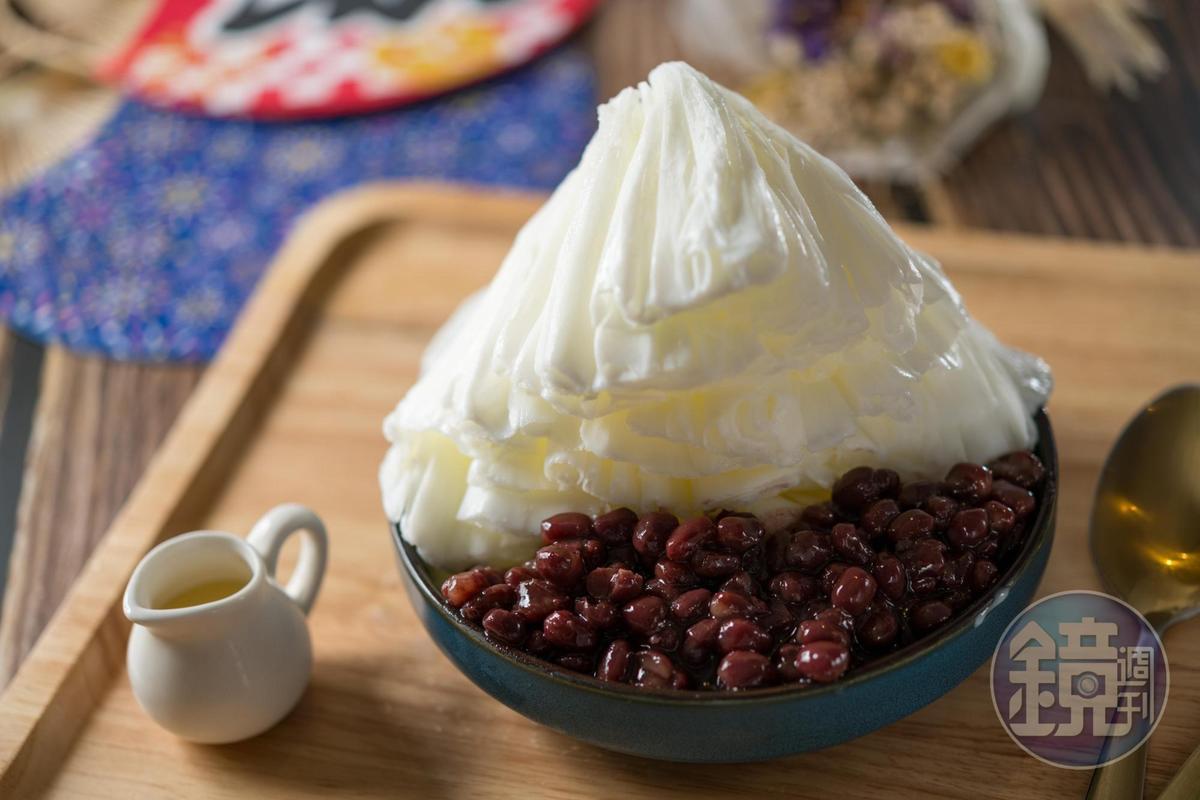 「十勝鮮乳紅豆」奶香醇厚,紅豆飽滿蜜甜。(150元/份)