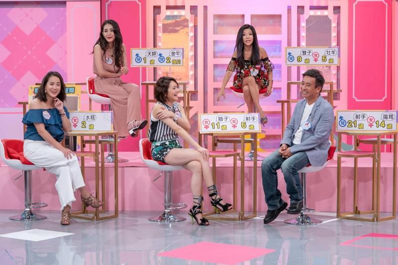 《女人我最大》來賓林佳儀、李愛綺、趙唯伶分享孩子遇鬼經歷。(TVBS歡樂台提供)