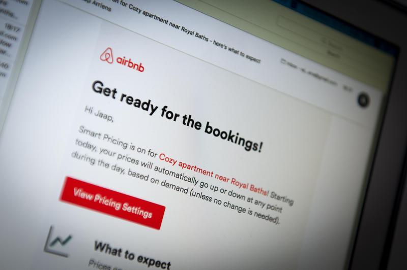 Airbnb網站上的房源現有400多萬筆。(東方IC)