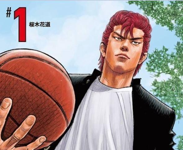 《灌籃高手》新裝再編版,中文版將在九月發售 。(圖:取自週刊少年Jump網站)