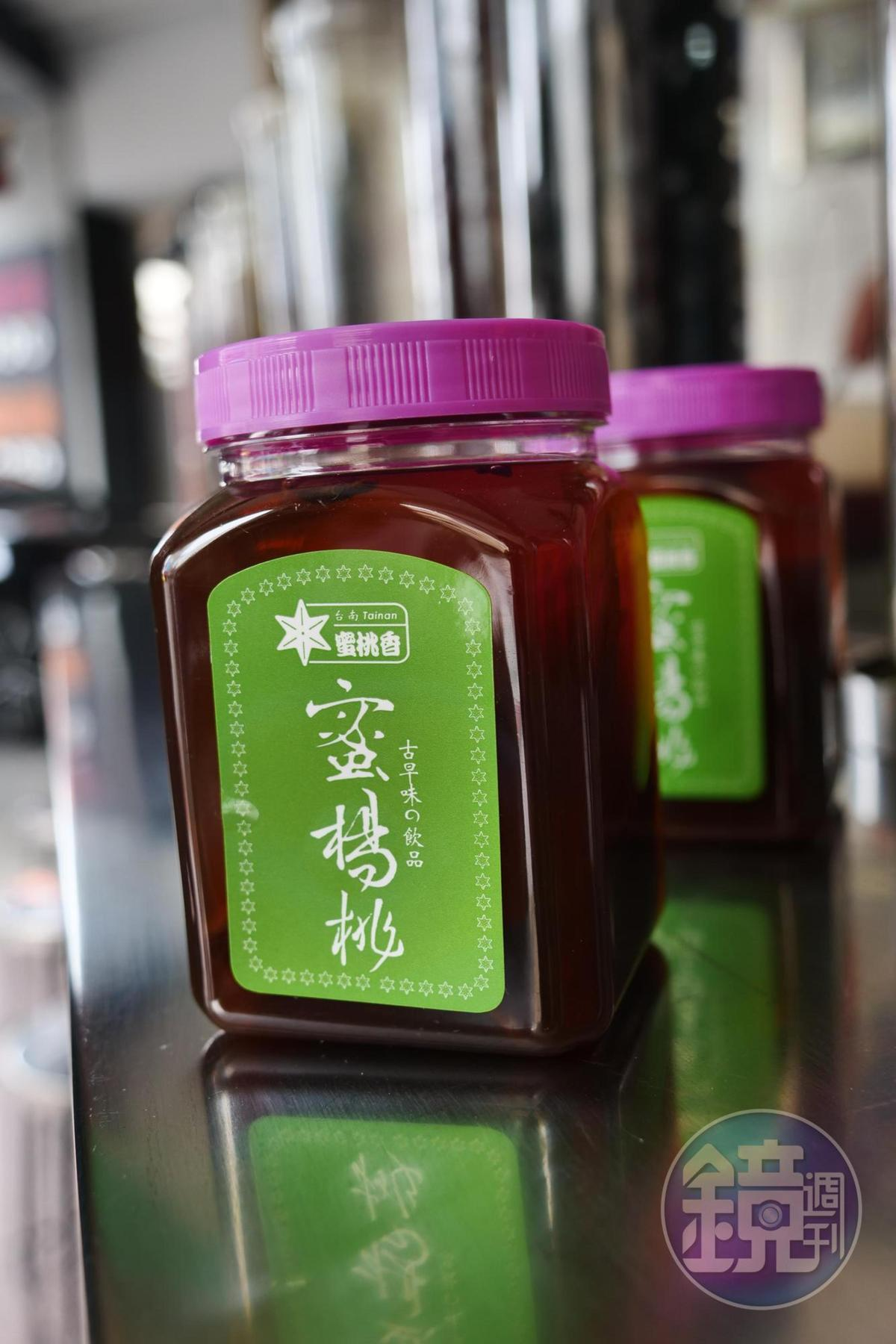 許多人也會帶濃縮的蜜楊桃回家泡成飲品。