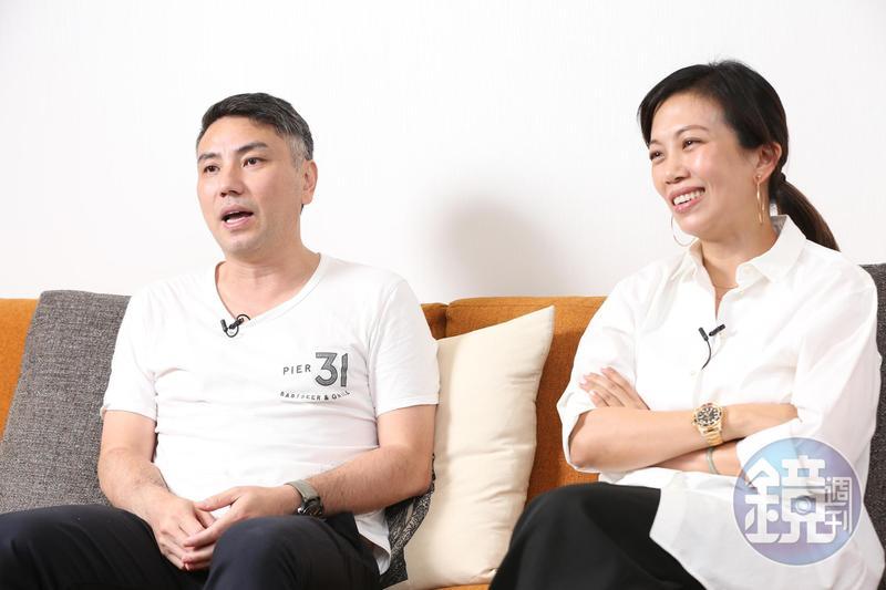 詹仁雄(左)與Summer聯手製作全新選秀節目《聲林之王》,希望挖掘出下一個大明星。