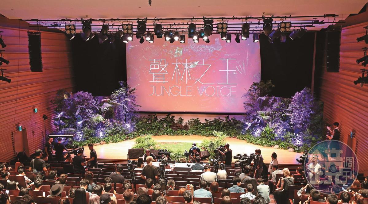 每集千萬製作費的《聲林之王》,吸引了近4,000名參賽者報名。