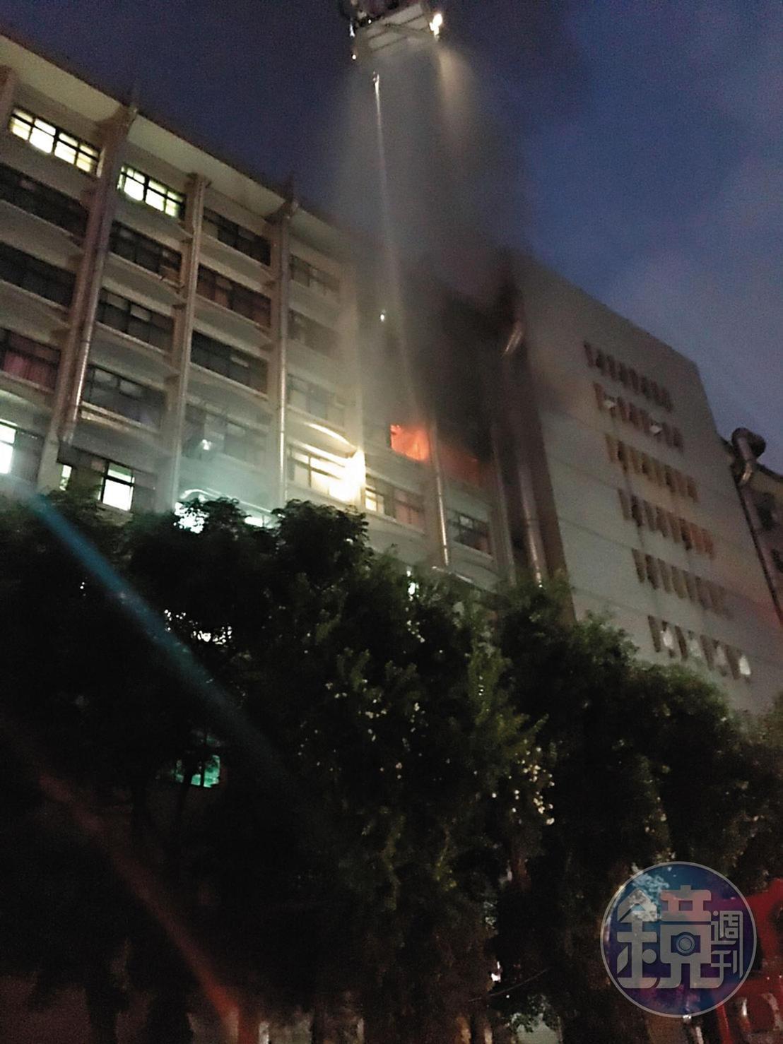 衛福部台北醫院7樓的安寧病房區發生火警,造成9死30傷慘劇。