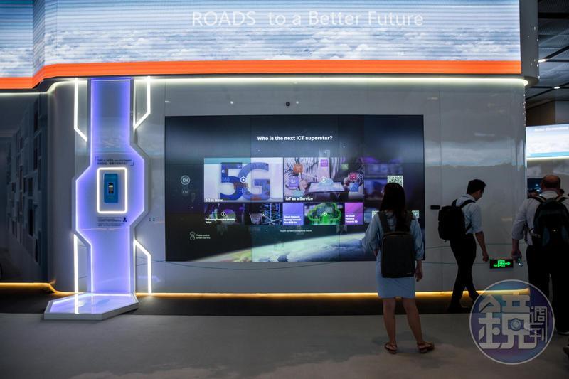 華為手機不僅占有率奪下第二名,也放話明年中要推出全球第一支5G手機。