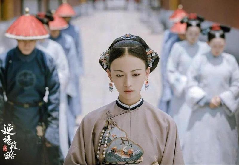 吳謹言出道8年,對魏瓔珞這角色的詮釋雖非絲絲入扣但極為討喜。(愛奇藝提供)