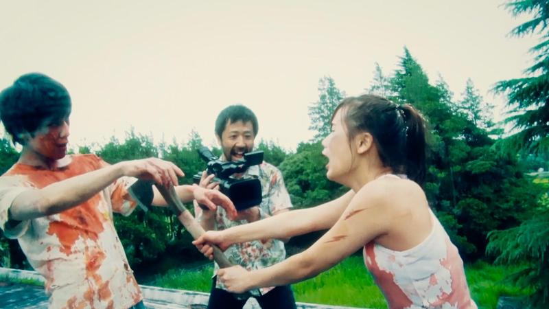 日本獨立電影《一屍到底》製片成本僅83萬元台幣,靠觀眾口耳相傳,成功重新上映賣出4千多萬票房。(網路圖片)