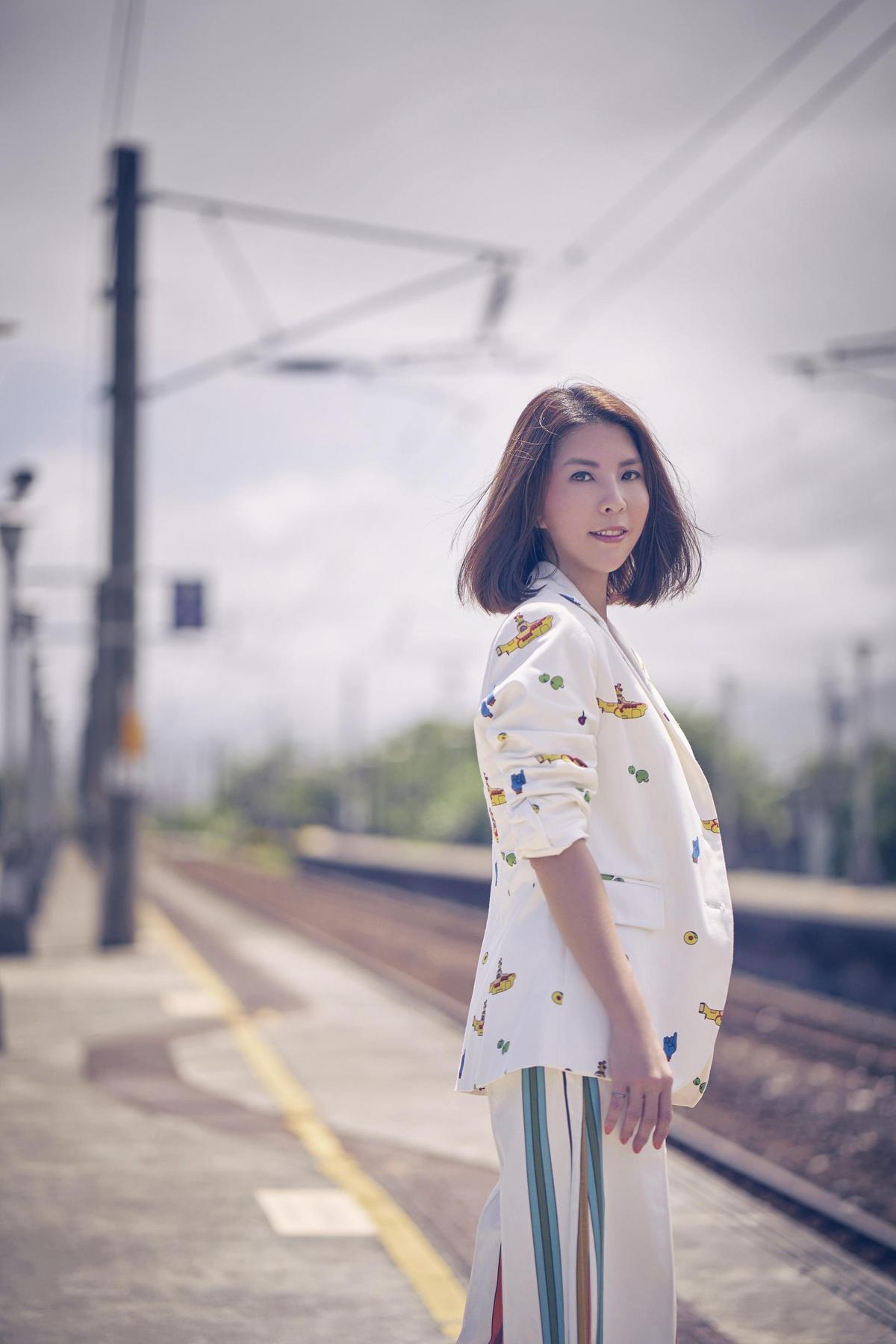 暌違4年,許茹芸將於9月推出新專輯《綻放的綻放的綻放》。(索尼唱片提供)