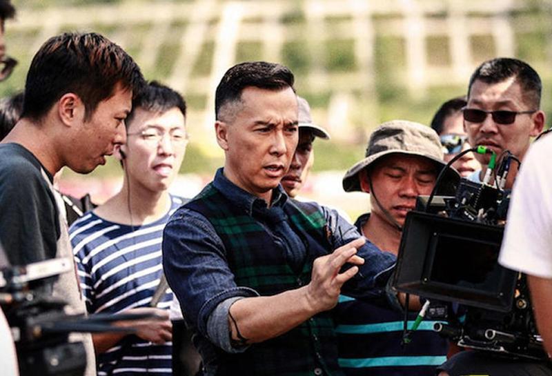 甄子丹拍電影《大師兄》,是主演也身兼監製,對每顆鏡頭都非常「挑剔」。