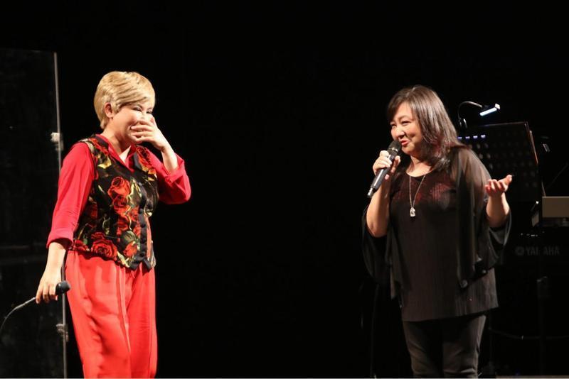 黃小琥開唱,好久不見的鄭怡來當特別嘉賓。(星光娛樂)