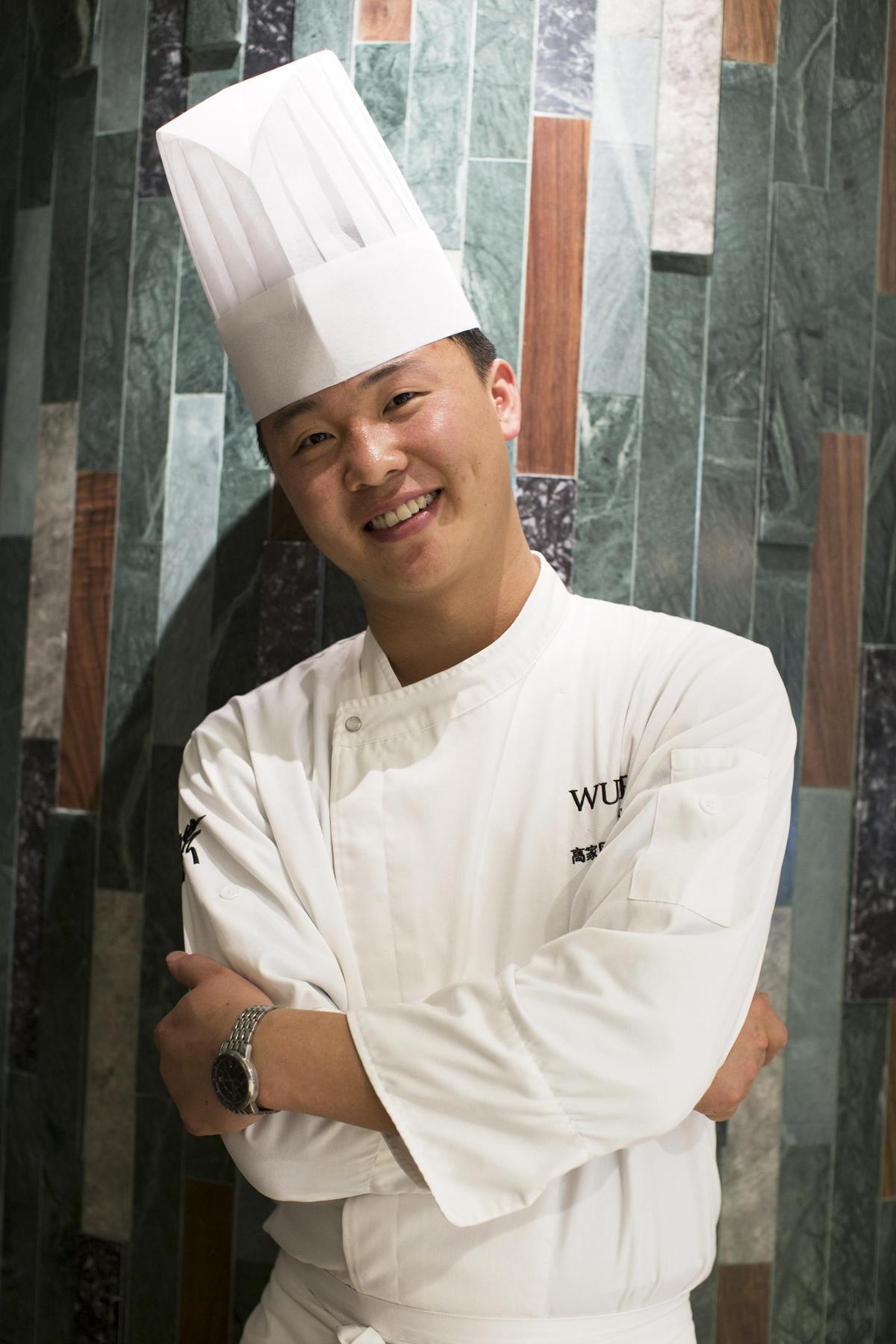 中國高端蔬食餐廳「大蔬無界」主廚高家風。(「Orchid Restaurant 蘭」提供)