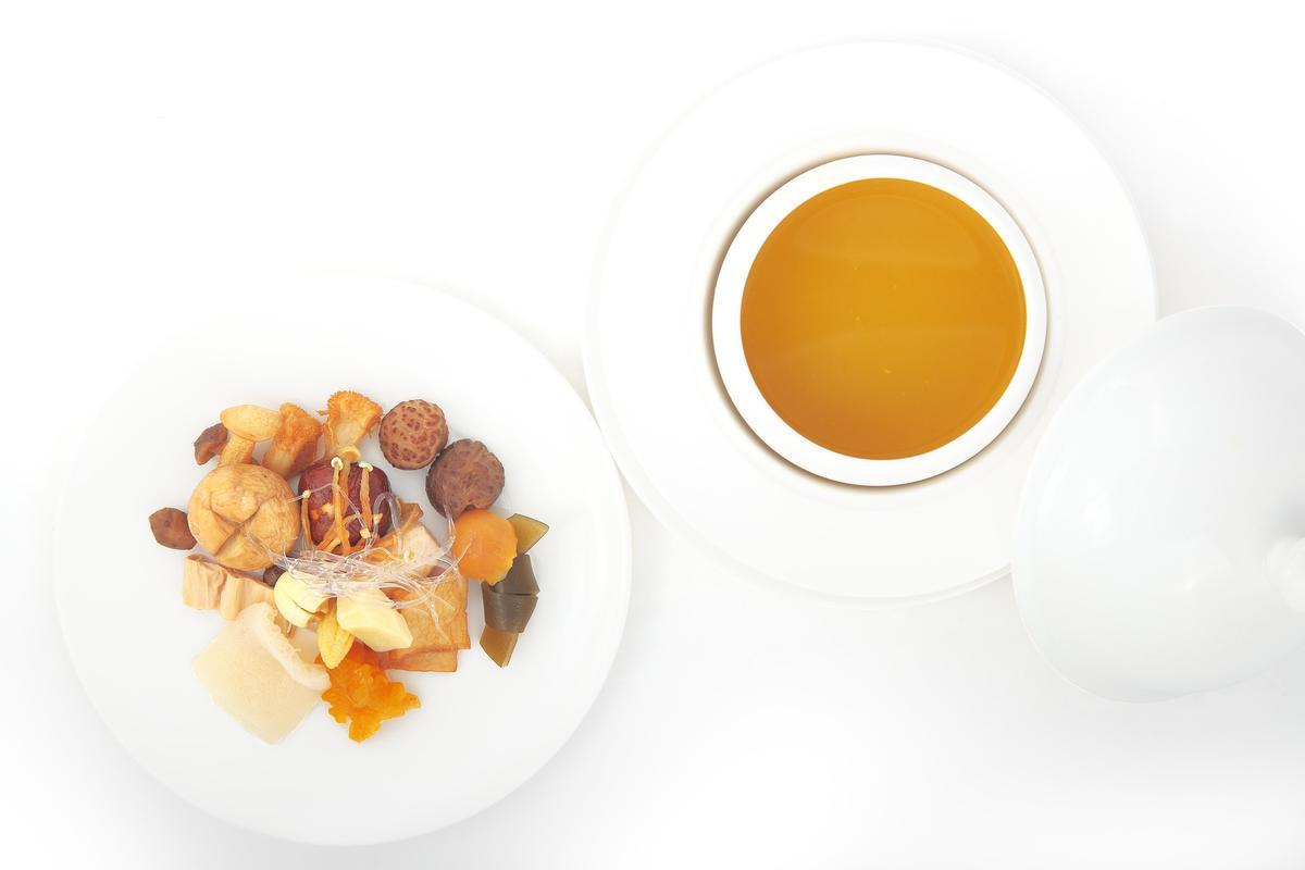 中國高端蔬食餐廳「大蔬無界」這回會帶來招牌「18味福壽全」。(「Orchid Restaurant 蘭」提供)