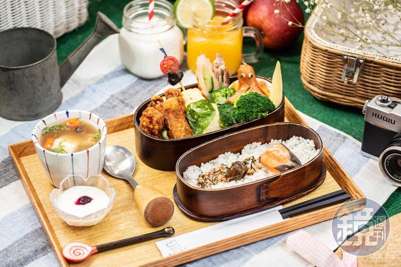 「私藏不藏私」的料理走日本鄉村風。