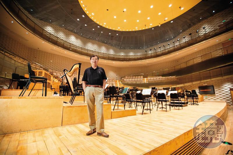 陳光憲以不到1年的時間創建了蘇州交響樂團,目前也擔任團長。