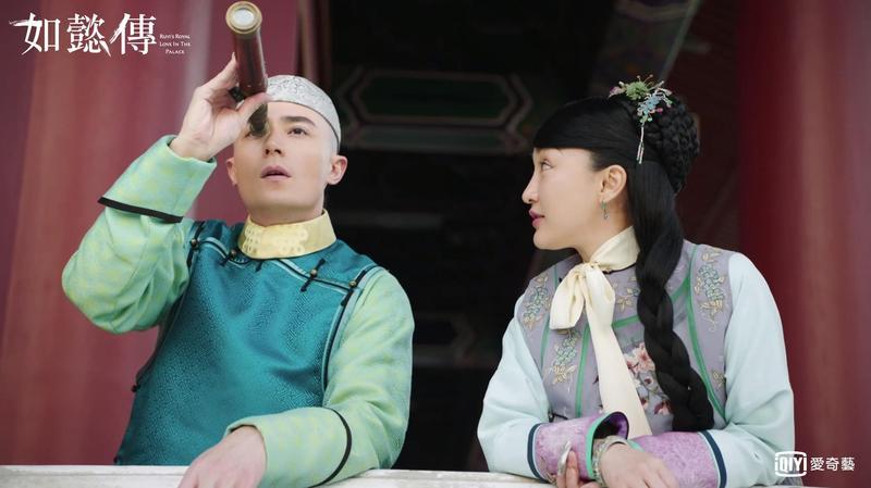 《如懿傳》開演,周迅與霍建華的少年少女扮相,讓觀眾喊太難消化。(愛奇藝台灣站提供)