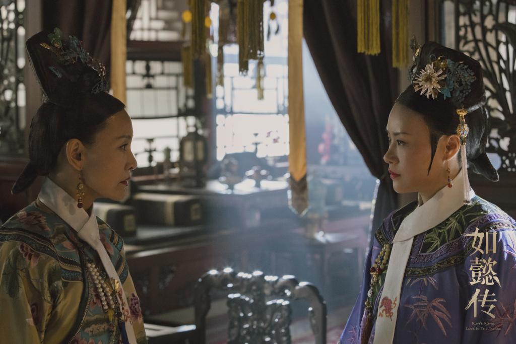 陳沖與鄔君梅兩位老戲骨尬戲,著實精彩。(翻攝自如懿傳微博)