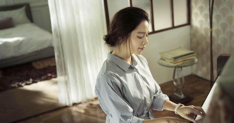 徐若瑄第一次拍恐怖片,內心也反覆思考許久。(威視提供)