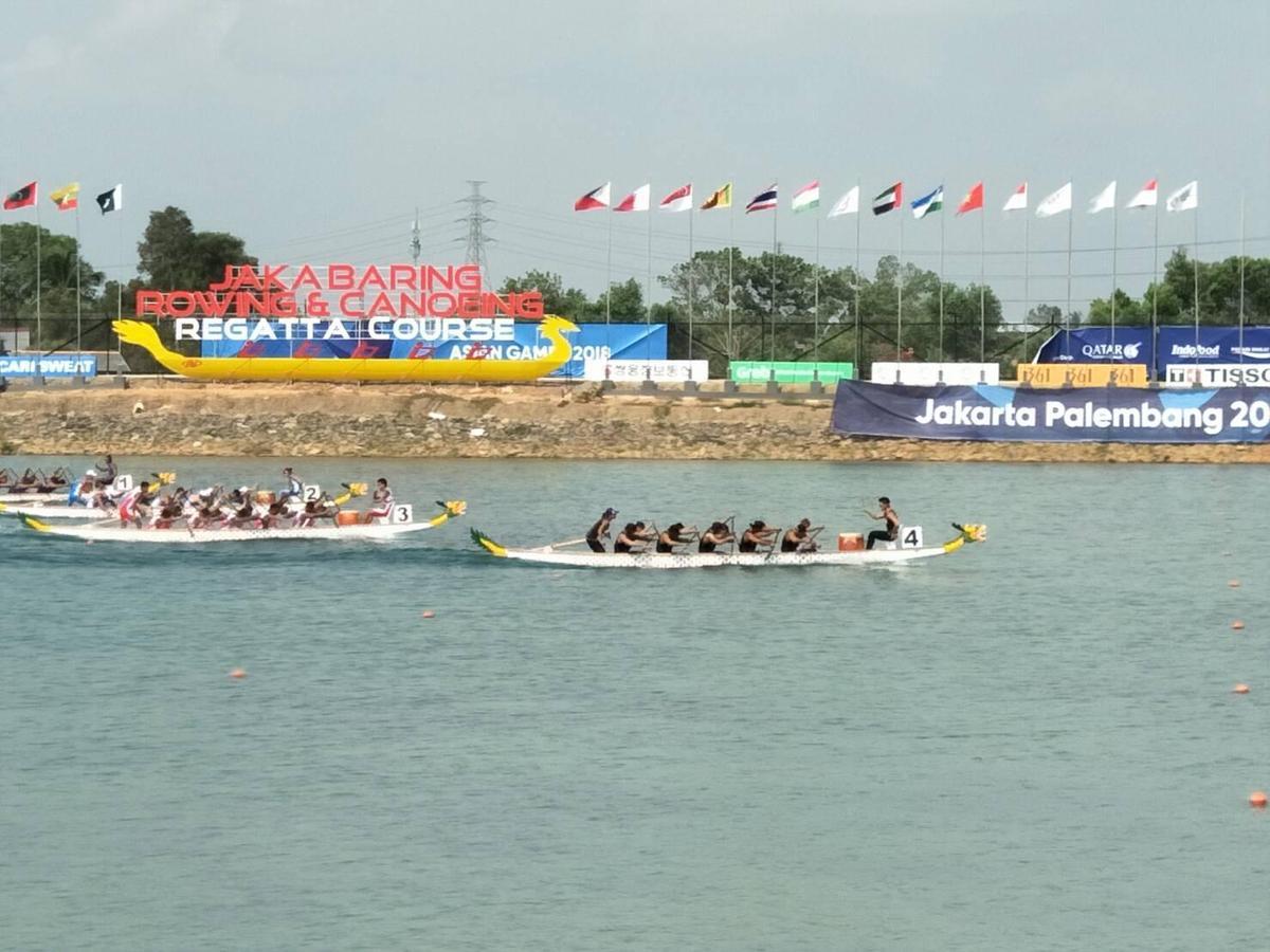 面對南北韓聯軍、中國、泰國、印尼及菲律賓等選手,中華隊一開賽就取得領先優勢。(中華奧會提供)
