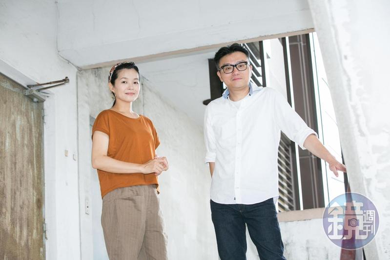 《引爆點》的故事靈感不少來自編劇王莉雯 (左)和導演莊景燊的經驗與真實事件。