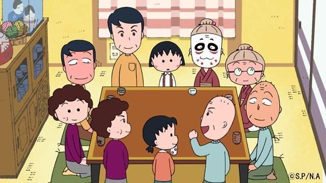 金爆成員曾經扮成小丸子的家人出現在動畫本篇。