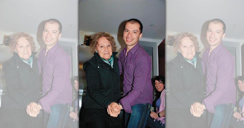 連家再傳喜事,前國民黨主席連戰么女連詠心戀上英國藝術家馬塞爾(右),9月將出嫁。(翻攝自Marcel友人臉書)