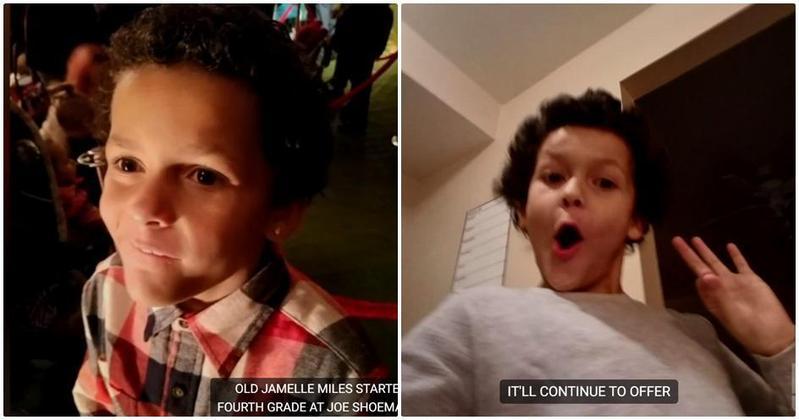 9歲男童Jamel Myles疑因性向慘遭霸凌,在家中自殺身亡。(翻攝自KDVR電視台影片)
