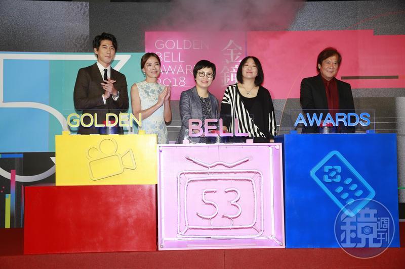 第53屆電視金鐘獎入圍名單記者會在三立電視台舉行。