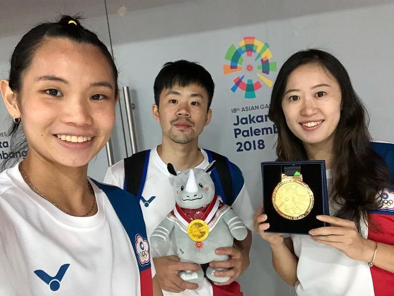 戴資穎po文感謝自己的小團隊和中華隊的用心。(取自Instagram帳號:tai_tzuying)