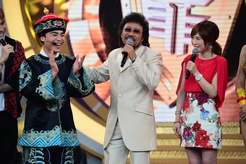 張菲引退多年,一回歸就以華視《綜藝菲常讚》入圍綜藝節目主持人獎。