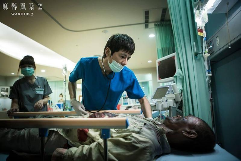 李國毅靠《麻醉風暴2》讓觀眾看到不同於偶像劇中的表現。(翻攝自《麻醉風暴2》粉絲專頁)