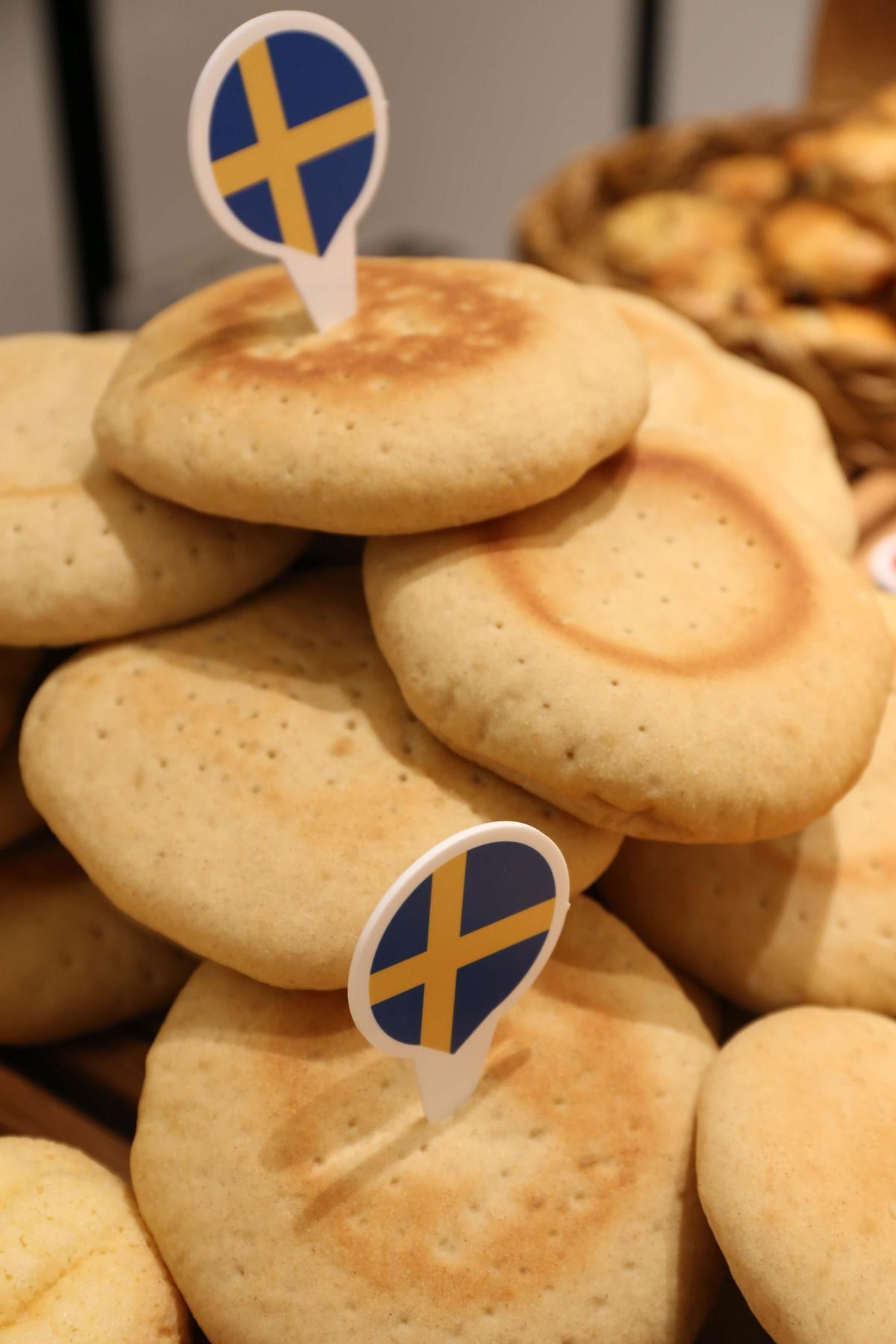 「瑞典極地麵包」可搭配優格吃。(吳寶春麥方店提供)