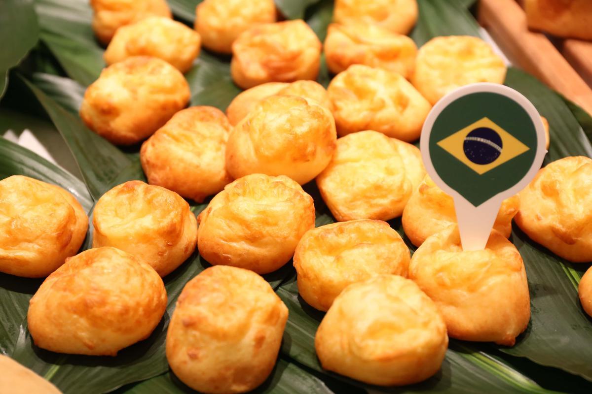 「巴西木薯麵包」口感Q軟。(吳寶春麥方店提供)