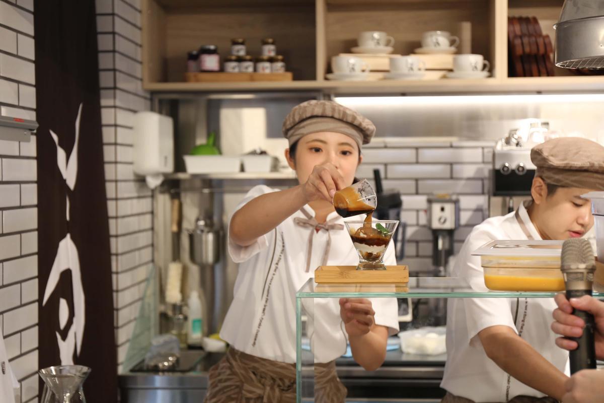 「阿芙佳朵」為Fika Fika與吳寶春聯名特調咖啡飲品。(140元/杯)