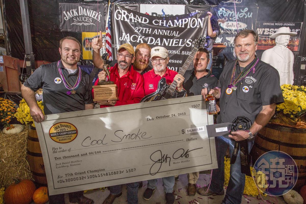 每年秋天美國田納西州盛大登場全球BBQ大賽,超過20多個國家、逾50支隊伍參賽。