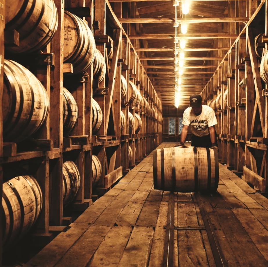 Jack Daniel's 田納西威士忌是美國最古老的註冊酒廠。
