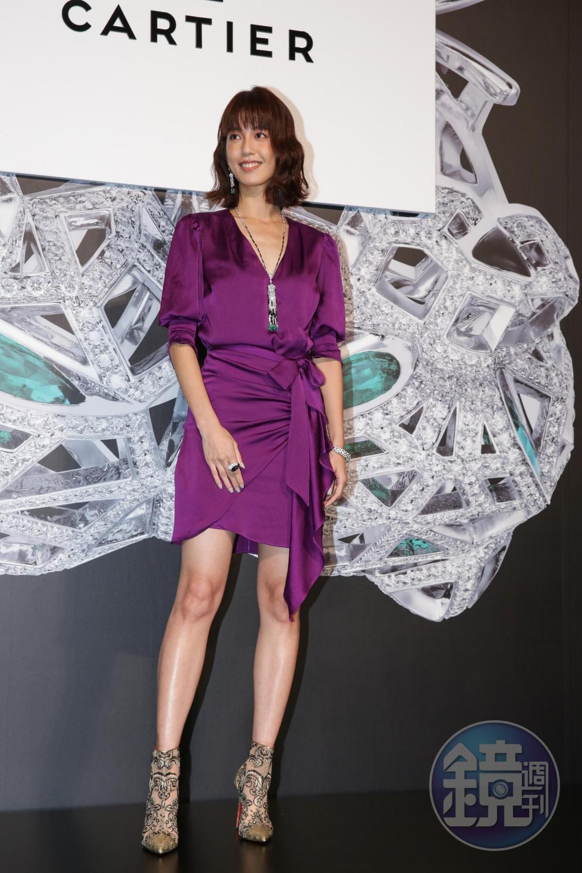 陳庭妮3,100萬元的Cartier行頭,是全場藝人最高價。