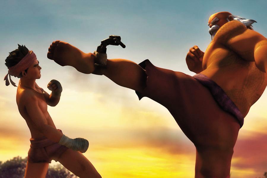 《暹羅訣:九神戰甲》的武打動作,參考了包括《皇家夜總會》在內的007系列電影。(翻攝自visionthai.com)